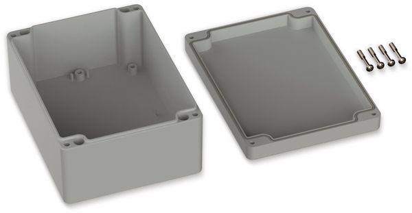 POLLIN, Polycarbonat Gehäuse, 160 x 120 x 75 mm, IP65, Lichtgrau - Produktbild 2
