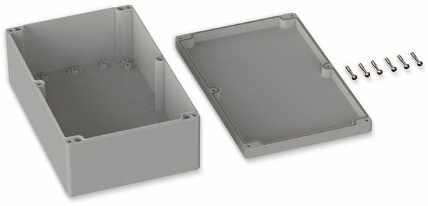 POLLIN, Polycarbonat Gehäuse, 250 x 160 x 90 mm, IP65, Lichtgrau - Produktbild 2