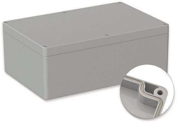 POLLIN, Polycarbonat Gehäuse, 240,3 x 160,3 x 90 mm, IP66, Lichtgrau