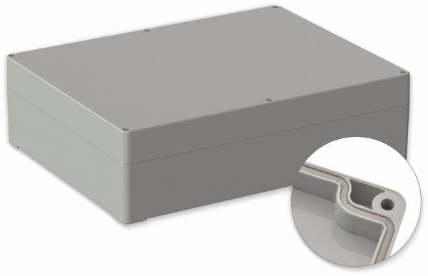 POLLIN, Polycarbonat Gehäuse, 300 x 230 x 85 mm, IP65, Lichtgrau