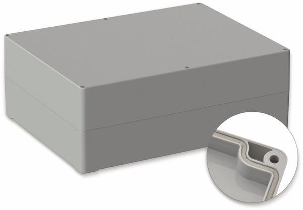 POLLIN, Polycarbonat Gehäuse, 300 x 230 x 110 mm, IP65, Lichtgrau