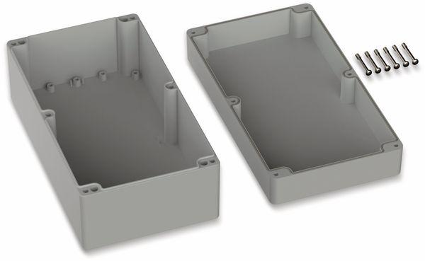 POLLIN, Polycarbonat Gehäuse, 360 x 200 x 149,5 mm, IP66, Lichtgrau - Produktbild 2
