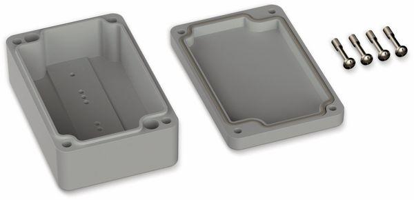 POLLIN, ABS Gehäuse, 98 x 64 x 36,4 mm, IP66, Lichtgrau - Produktbild 2