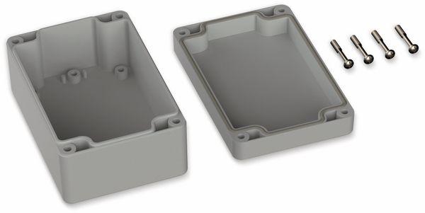 POLLIN, ABS Gehäuse, 120 x 80 x 55 mm, IP66, Lichtgrau - Produktbild 2