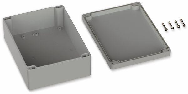 POLLIN, ABS Gehäuse, 200 x 150 x 75 mm, IP65, Lichtgrau - Produktbild 2