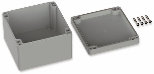 POLLIN, ABS Gehäuse, 122 x 120 x 85 mm, IP66, Lichtgrau - Produktbild 2