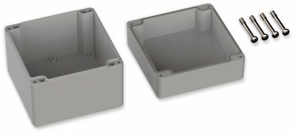 POLLIN, ABS Gehäuse, 122 x 120 x 105 mm, IP66, Lichtgrau - Produktbild 2