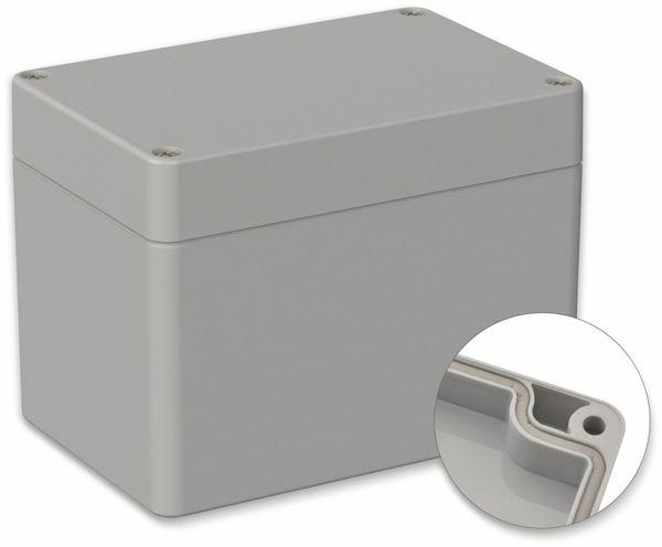 POLLIN, ABS Gehäuse, 120 x 80 x 90 mm, IP66, Lichtgrau