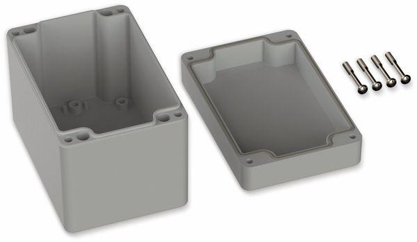 POLLIN, ABS Gehäuse, 120 x 80 x 90 mm, IP66, Lichtgrau - Produktbild 2