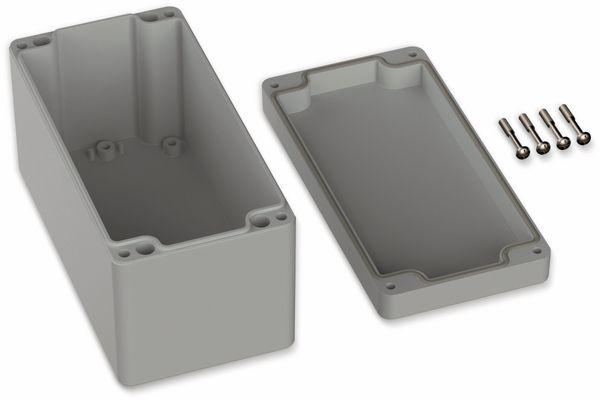 POLLIN, ABS Gehäuse, 160 x 80 x 85 mm, IP66, Lichtgrau - Produktbild 2