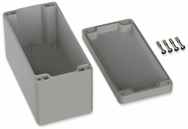 POLLIN, ABS Gehäuse, 160 x 80 x 90 mm, IP66, Lichtgrau - Produktbild 2