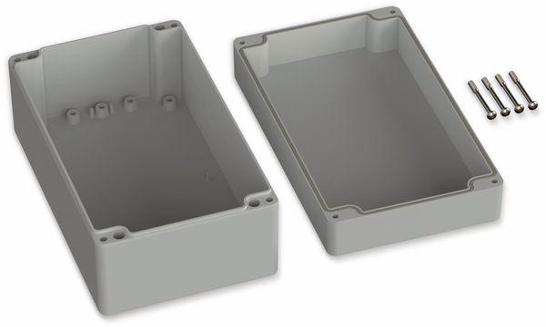 POLLIN, ABS Gehäuse, 200 x 120 x 90 mm, IP66, Lichtgrau - Produktbild 2