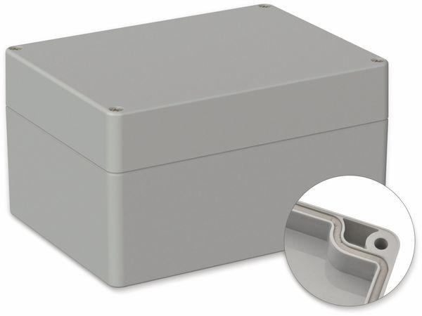 POLLIN, ABS Gehäuse, 160 x 120 x 90 mm, IP66, Lichtgrau