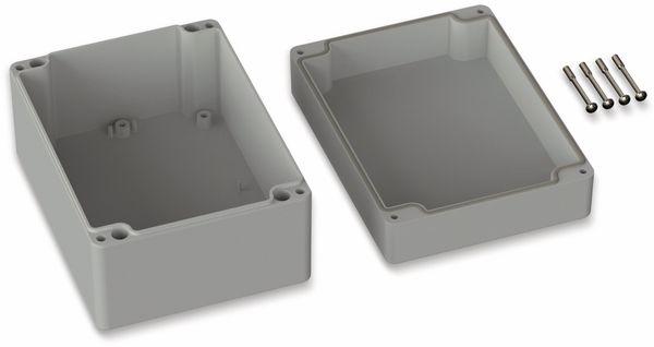 POLLIN, ABS Gehäuse, 160 x 120 x 90 mm, IP66, Lichtgrau - Produktbild 2
