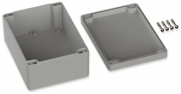POLLIN, ABS Gehäuse, 160 x 120 x 75 mm, IP66, Lichtgrau - Produktbild 2