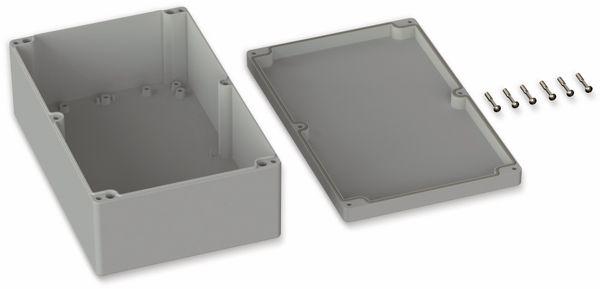 POLLIN, ABS Gehäuse, 250 x 160 x 90 mm, IP65, Lichtgrau - Produktbild 2