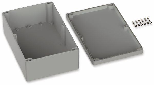 POLLIN, ABS Gehäuse, 240,3 x 160,3 x 90 mm, IP66, Lichtgrau - Produktbild 2