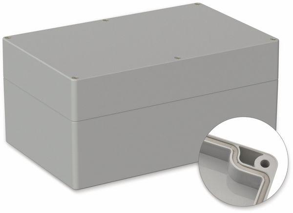 POLLIN, ABS Gehäuse, 250 x 160 x 119 mm, IP66, Lichtgrau