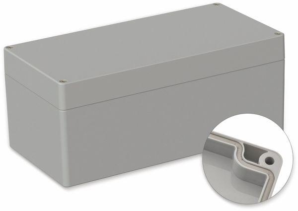 POLLIN, ABS Gehäuse, 240,5 x 120 x 100,5 mm, IP66, Lichtgrau