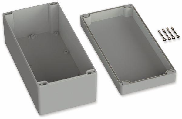 POLLIN, ABS Gehäuse, 240,5 x 120 x 100,5 mm, IP66, Lichtgrau - Produktbild 2