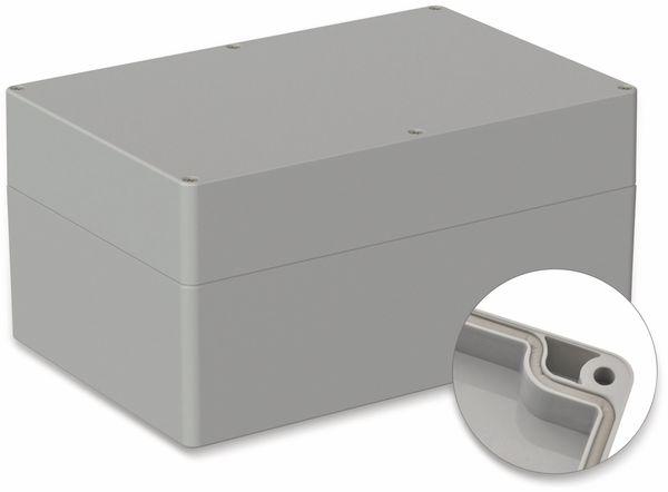 POLLIN, ABS Gehäuse, 240,3 x 160,3 x 120 mm, IP66, Lichtgrau