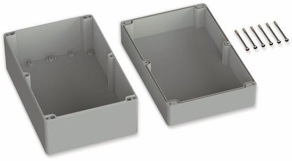 POLLIN, ABS Gehäuse, 240,3 x 160,3 x 120 mm, IP66, Lichtgrau - Produktbild 2