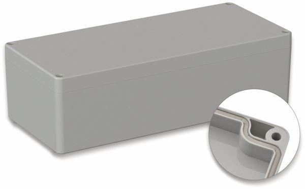 POLLIN, ABS Gehäuse, 340 x 150 x 100 mm, IP65, Lichtgrau
