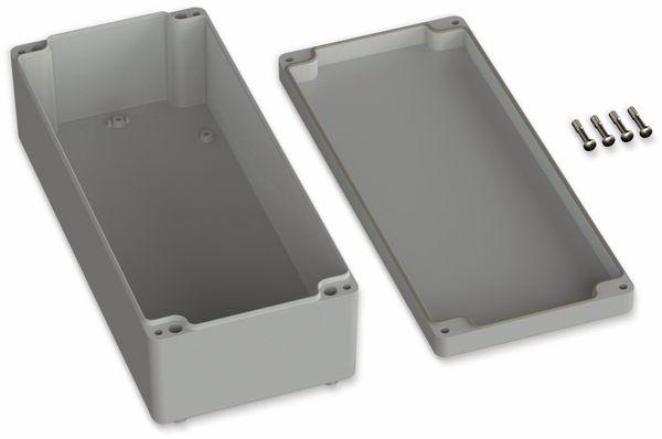 POLLIN, ABS Gehäuse, 340 x 150 x 100 mm, IP65, Lichtgrau - Produktbild 2