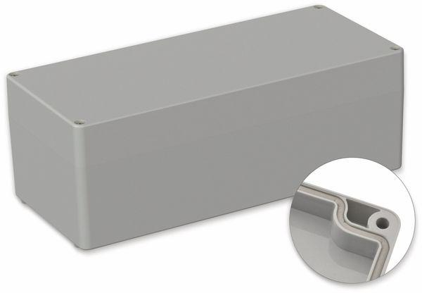 POLLIN, ABS Gehäuse, 340 x 150 x 120 mm, IP66, Lichtgrau