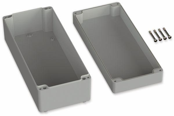 POLLIN, ABS Gehäuse, 340 x 150 x 120 mm, IP66, Lichtgrau - Produktbild 2