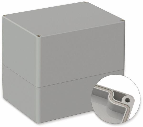POLLIN, ABS Gehäuse, 160 x 120 x 140 mm, IP66, Lichtgrau