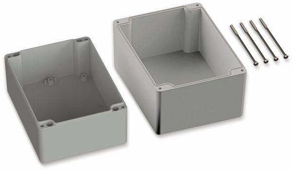 POLLIN, ABS Gehäuse, 160 x 120 x 140 mm, IP66, Lichtgrau - Produktbild 2