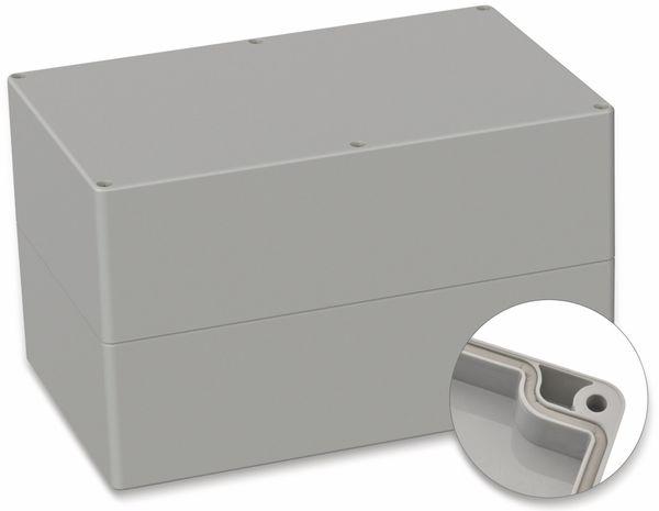 POLLIN, ABS Gehäuse, 250 x 160 x 150 mm, IP66, Lichtgrau