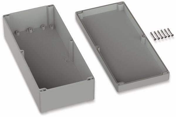 POLLIN, ABS Gehäuse, 360 x 160 x 100 mm, IP66, Lichtgrau - Produktbild 2