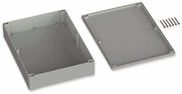 POLLIN, ABS Gehäuse, 300 x 230 x 85 mm, IP65, Lichtgrau - Produktbild 2