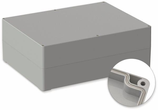 POLLIN, ABS Gehäuse, 300 x 230 x 110 mm, IP65, Lichtgrau