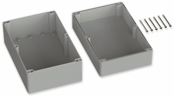 POLLIN, ABS Gehäuse, 300 x 230 x 110 mm, IP65, Lichtgrau - Produktbild 2