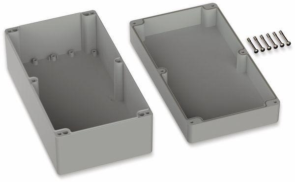 POLLIN, ABS Gehäuse, 360 x 200 x 149,5 mm, IP66, Lichtgrau - Produktbild 2