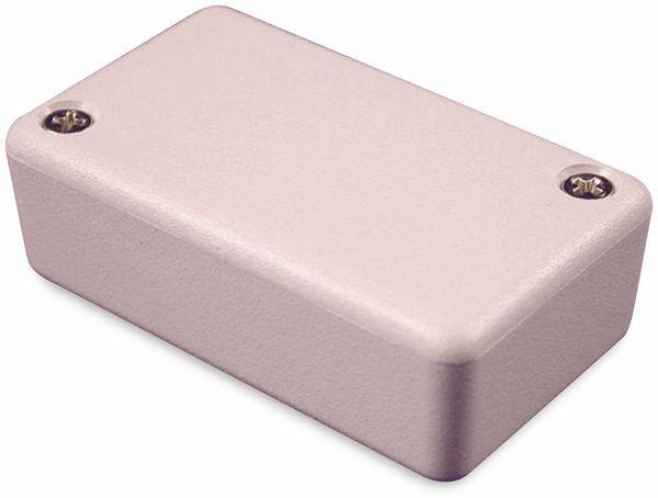Hammond, Miniatur-Gehäuse, 1551HGY, 60x35x20 mm