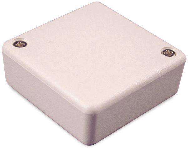 Hammond, Miniatur-Gehäuse, 1551RGY, 50x50x20 mm