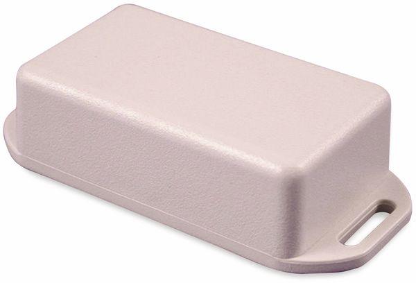 Hammond, Miniatur-Gehäuse, 1551HFLGY, 60x35x20 mm