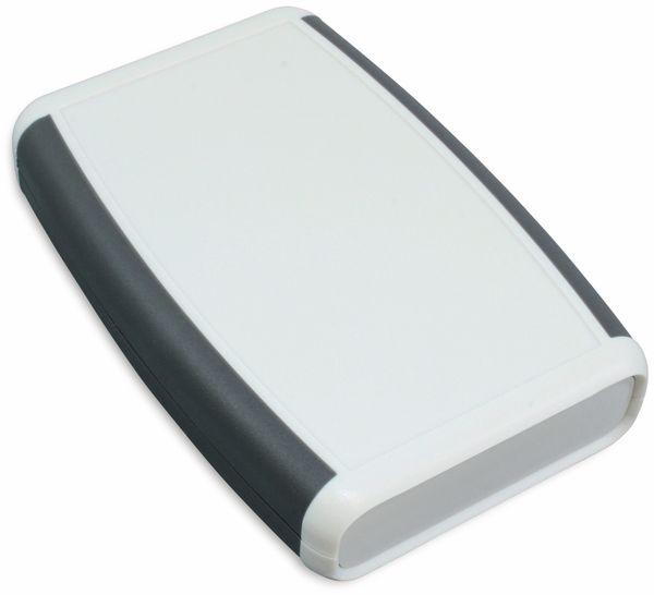 Hammond, Hand-Gehäuse, 1553BGYBAT, 117x79x24 mm