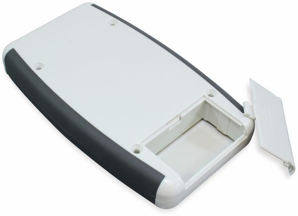 Hammond, Hand-Gehäuse, 1553DGYBAT, 147x89x25 mm - Produktbild 3