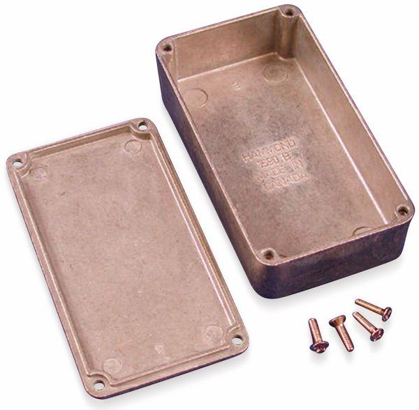 Hammond, Aluminium-Gehäuse, 1590B, 111,5x59,5x31 mm