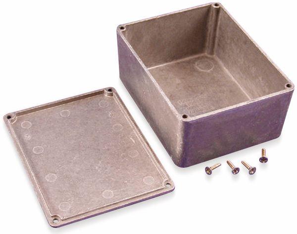 Hammond, Aluminium-Gehäuse, 1590C, 120x94x56,5 mm