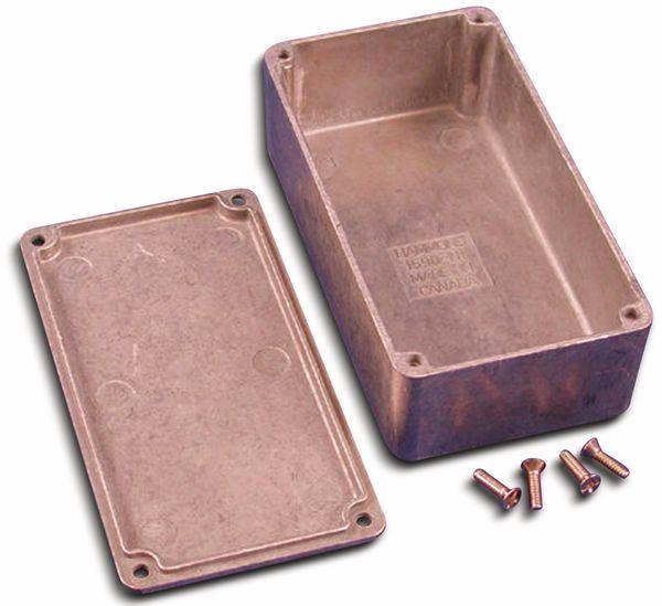 Hammond, Aluminium-Gehäuse, 1590N1, 121,1x66x39,3 mm