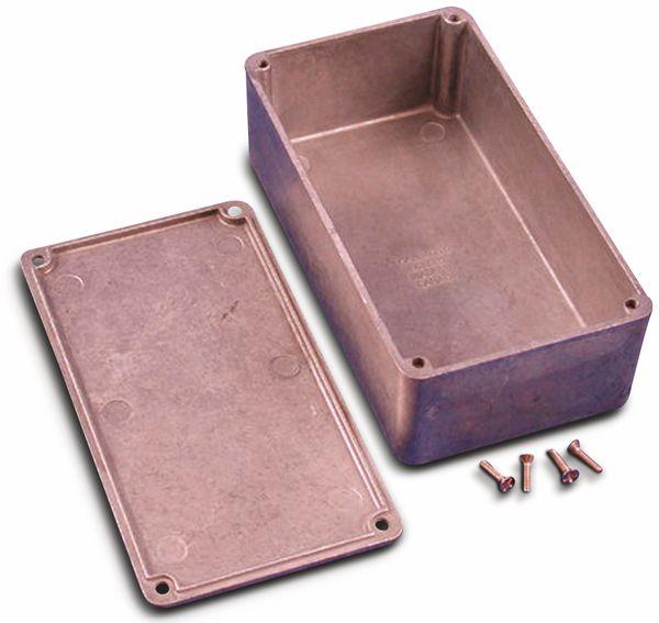 Hammond, Aluminium-Gehäuse, 1590P1, 153x82x50 mm