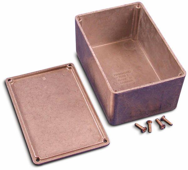 Hammond, Aluminium-Gehäuse, 1590T, 120,5x79,5x59 mm