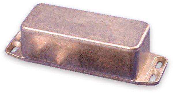 Hammond, Aluminium-Gehäuse, 1590AFL, 92,5x38,5x31 mm, mit Befestigungsflansch