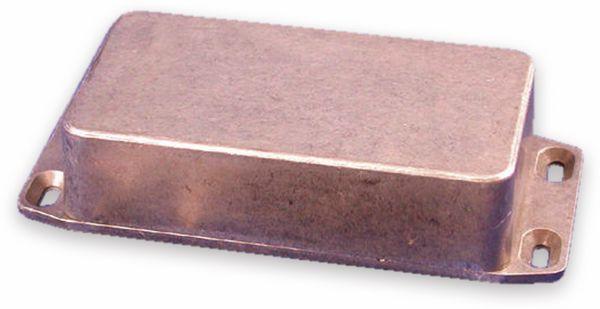Hammond, Aluminium-Gehäuse, 1590BFL, 111,5x59,5x31 mm, mit Befestigungsflansch